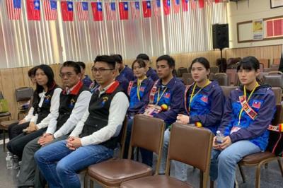 花蓮縣政府代表團訪中華會館將參加姊妹市山茶花節