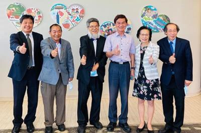 CCBA visits the new building of the Taipei Economic and Cultural Office in Los Angeles